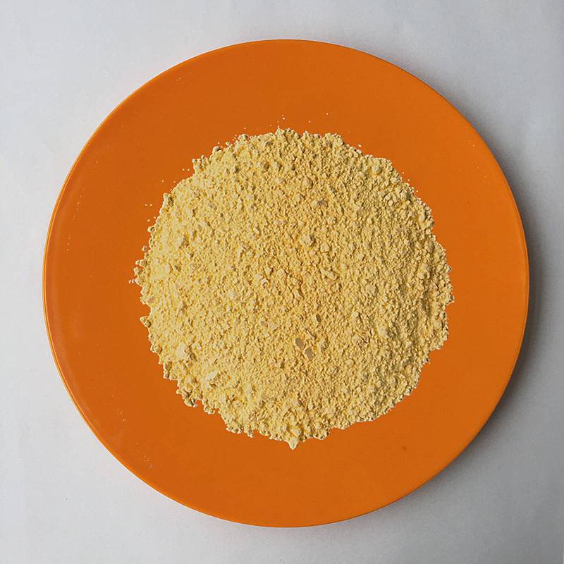 Degradable Material Melamine Bamboo Powder Dark Yellow Food Grade